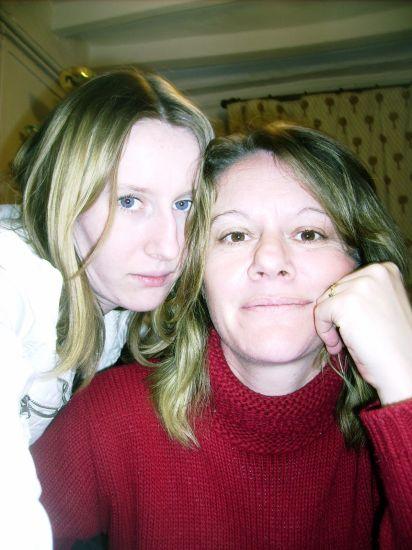 ma tante et moi
