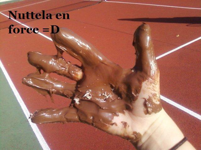 Humm Le Nutella Panachette xD
