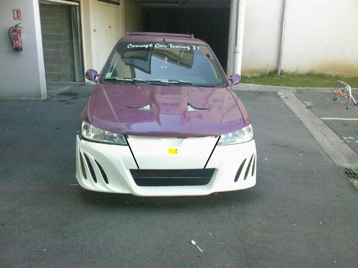 voici ma 2eme voiture celle la tt equipe de face