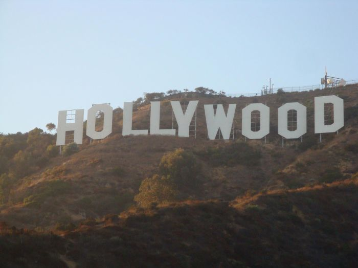 "27 AOUT LOS ANGELES ""hollywood"""
