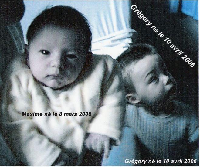 Grégory et Maxime
