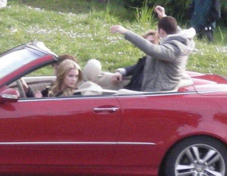 My family in my car
