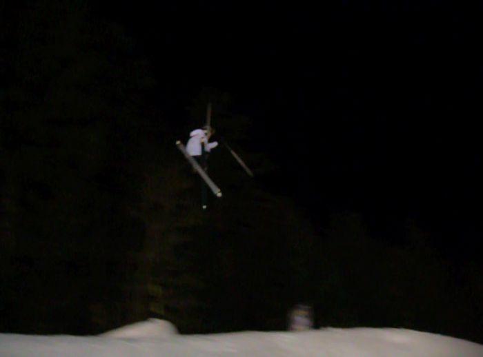Moi au snowpark de la bresse