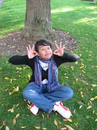 genie under the tree