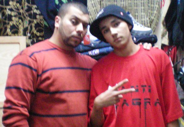 Me & Muslim ( the best Rapper in Morocco ) From Kachela Crew