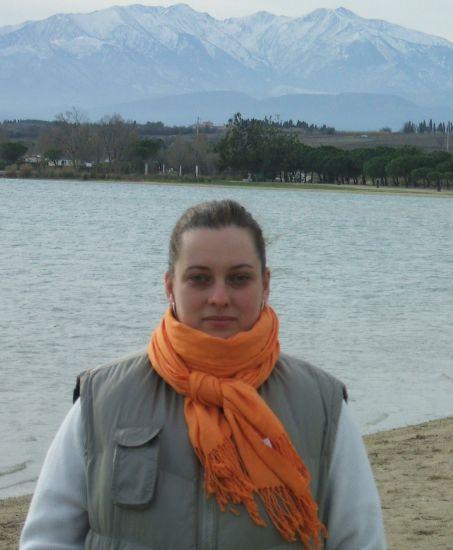 lac de Villeneuve de la Raho, le Canigou en fond