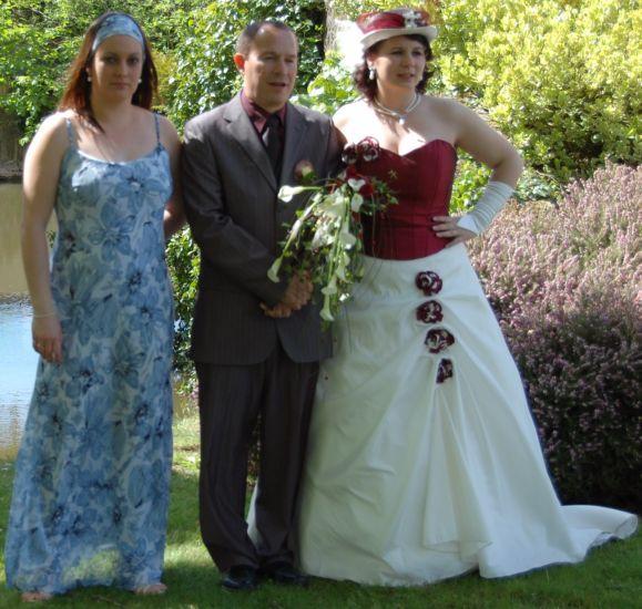avril 2008, mariage de ma cops Kat