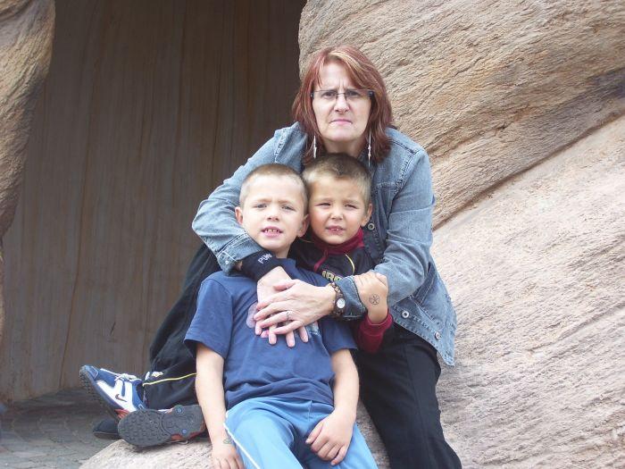 ma mere et ses petit enfants