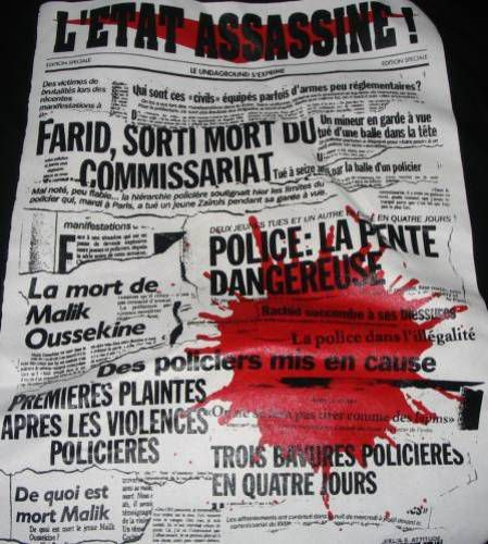 l'état assassine !