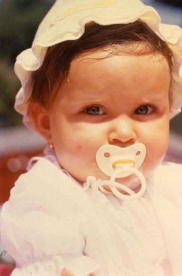 ma fille mon adoration ma princesse Elodie ma première