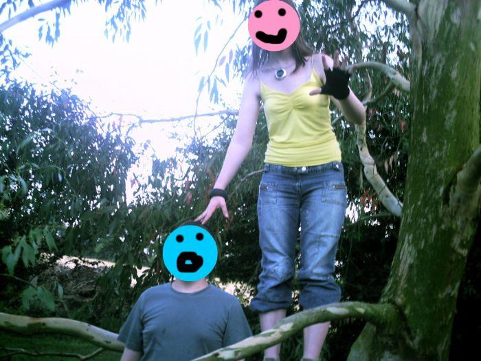 """Pause pendant le tournage """"La Forêt de Maria"""""""