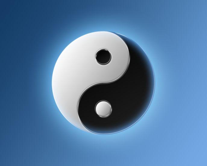 le ying et le yang ... les deux extrèmité de l'univers ....
