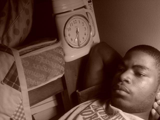 that Chris sleeping