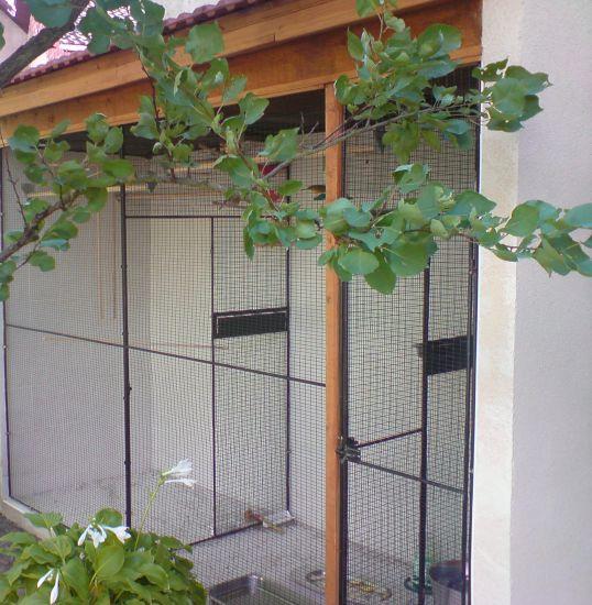 cage extérieur