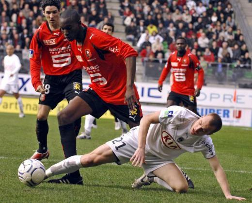 Le stade rennais contre Bordeaux