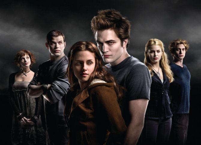 La famille Cullen et Bella