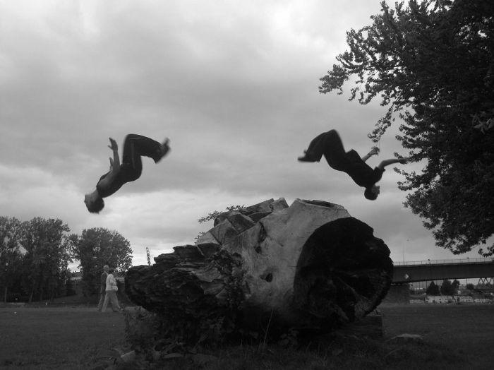 Pilados ,Graig salto arriere