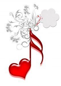 note coeur