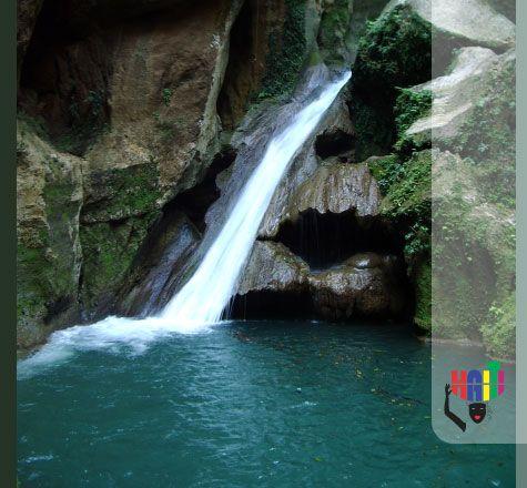 basin bleu de jacmel