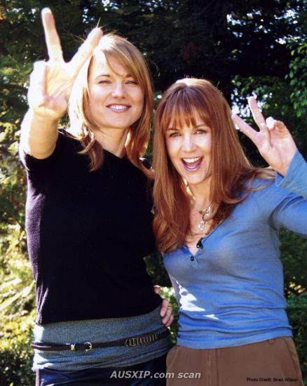 Lucy Lawless et Reneé O'Connor