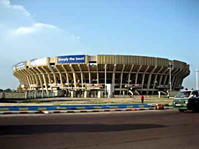 stade de martyrs construire par des chinois a KINSHASA
