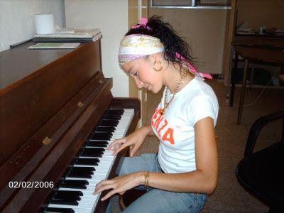 petite leçon de piano