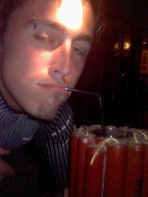 moi avec une boisson ki pete !!!!!