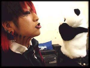 ruki avec sont panda