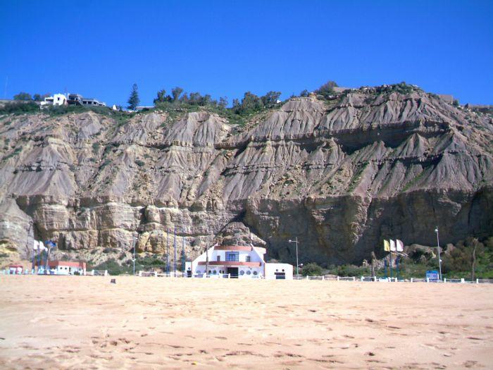 Facade de la plage