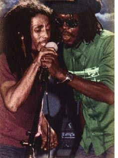 Bob Marley et Peter Tosh