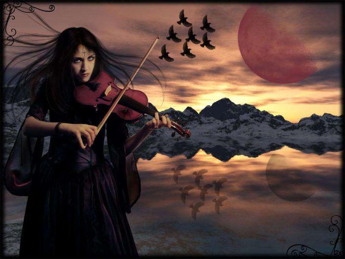 air du violon, berceuse du soleil