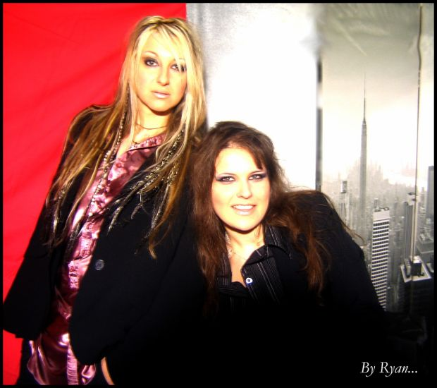 Avec Lorraine, ma meilleure amie