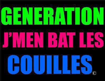 Generation J'Men Bat Les Couilles