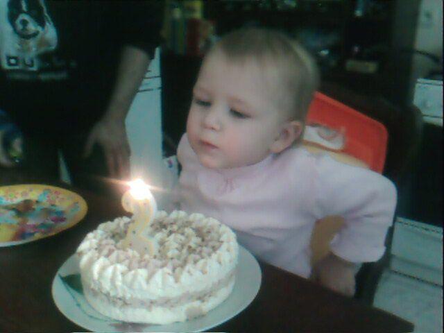 Les 2 ans à ma petite soeur