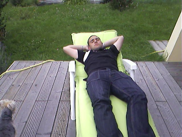 voila une photo de moi qui me repose