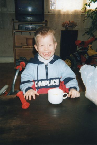 mon fils en 2000