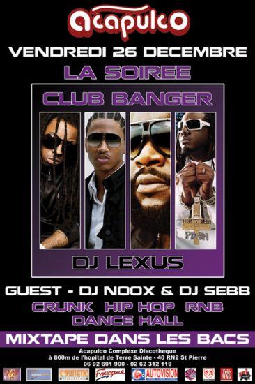 MIX TAPE CLUB BANGER  BY DJ L E X U S