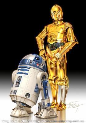 R2D2  &  C3PO       Mes Héros   =P