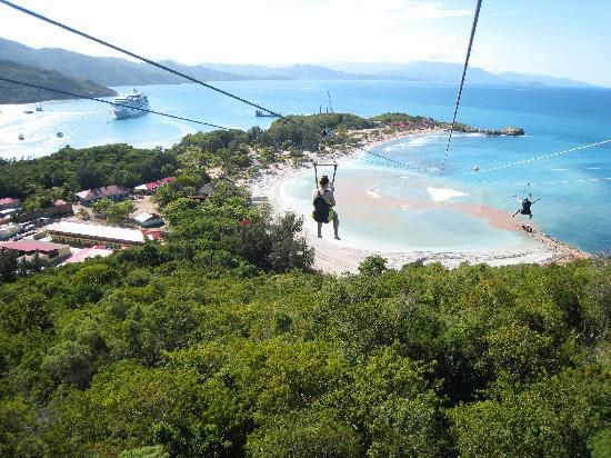 dragon-s-flight-labadee haïti