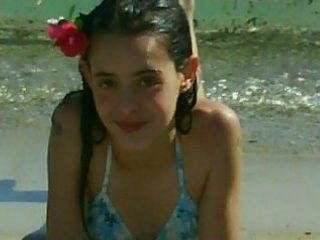 Moi à mon anniv à la plage