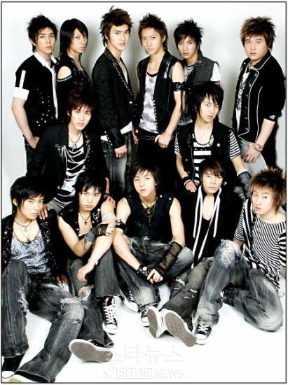Mon groupe corèen prèfèrè : Les Super Junior !