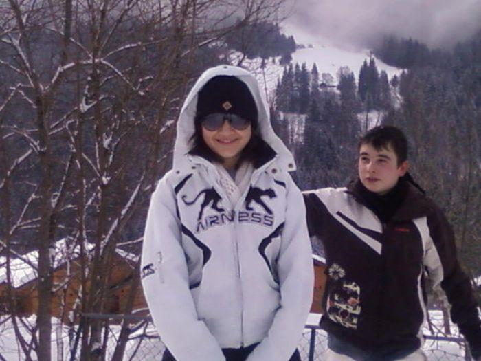 Moii el Allan au Skii