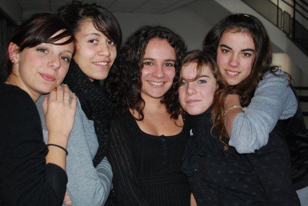 Julie, Salma, Marine, Clarisse & Manon