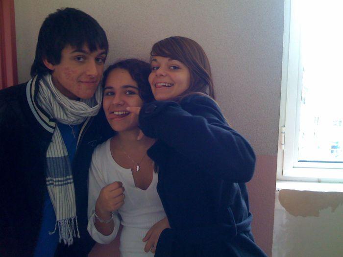 Gaëtan, Chloé & Manon
