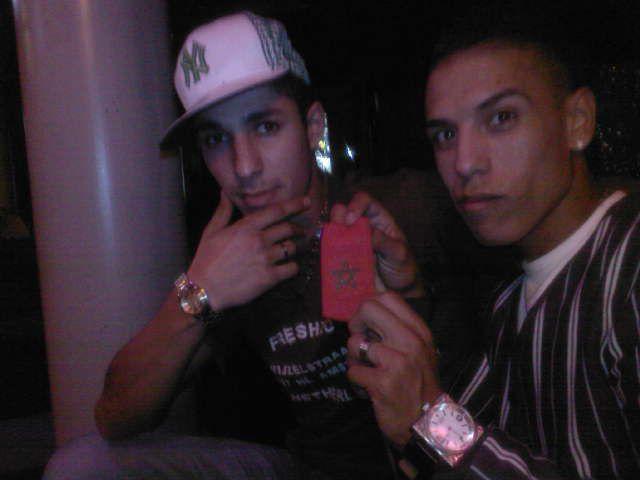 Devi (à gauch) et Abdel (à droite)