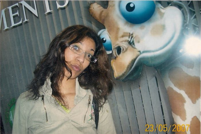 Moi et La Girafe lol
