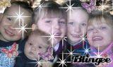 mes 5 petits enfants que j'adore