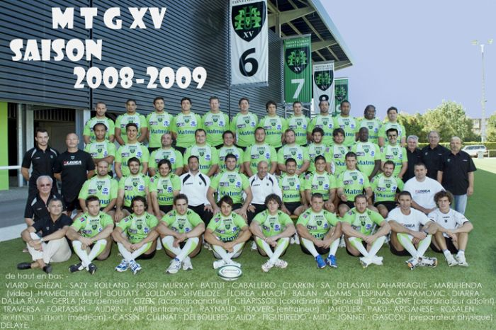 La famille rugby !    MTG XV
