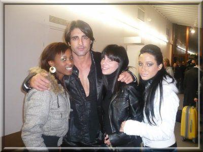 Greg Basso, Mina, Jenny & moi