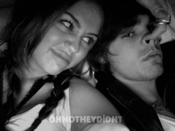 Miley et son petit-ami justin gaston